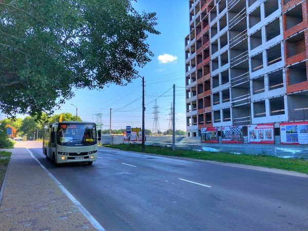 городской транспорт от дома до метро